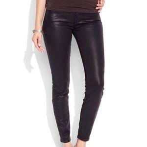"Lucky Brand Sofia Super Skinny ""Waxed"" Jeans"